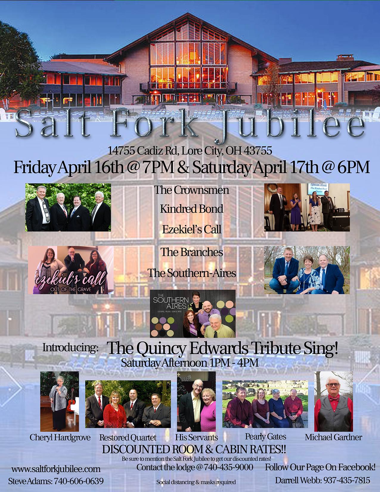 Salt Fork Jubilee April 2021